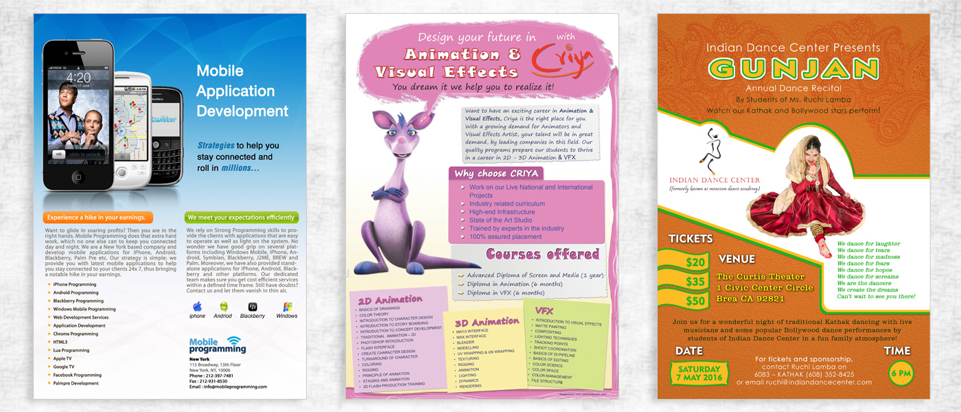 Brochure designed by best Designing studio In India
